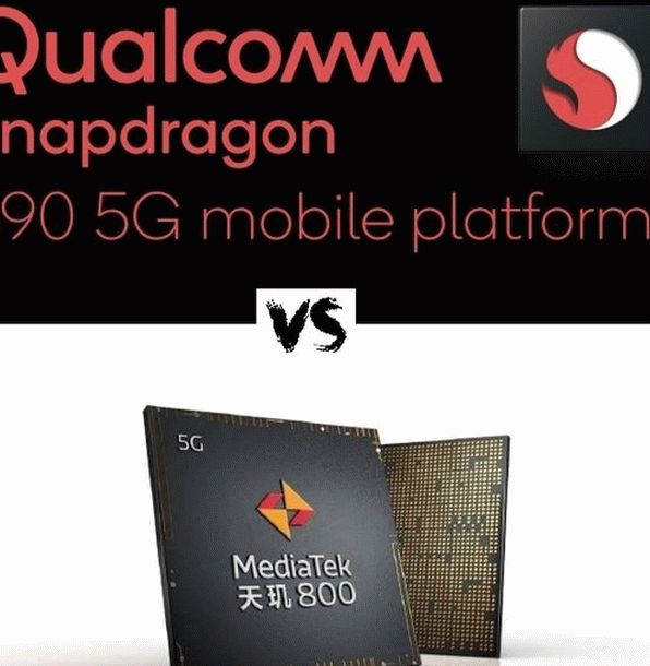Snapdragon 690 versus Dimensity 800